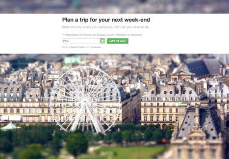 Plan your next trip | I@LEWEB | Scoop.it