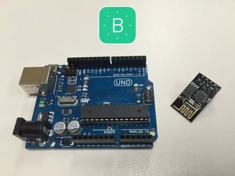 Connect to Blynk using ESP8266 as Arduino Uno wifi shield (Mac only) | Arduino, Netduino, Rasperry Pi! | Scoop.it