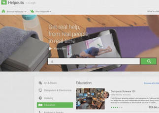 Get real-time help with Google Helpouts - CBS News | Real-Time | Scoop.it