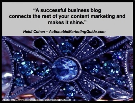How To Launch A Successful Business Blog - Heidi Cohen | brand influencers social media marketing | Scoop.it