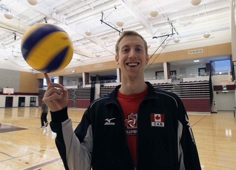 Openly gay national volleyball player aims to be role model for young athletes   Come Out   Scoop.it