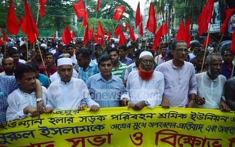 Transport workers threaten 36-hour strike in Chittagong from Aug 26 if missing leader is not found   Asian Labour Update   Scoop.it