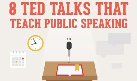 8 Ted Talks That Teach Public Speaking #infographic | Presentation Tips | Scoop.it