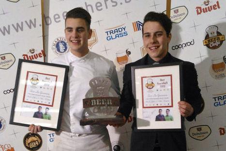 La première édition du concours Beer Chefs récompense une école bruxelloise | Haute Ecole Lucia de Brouckère | Scoop.it
