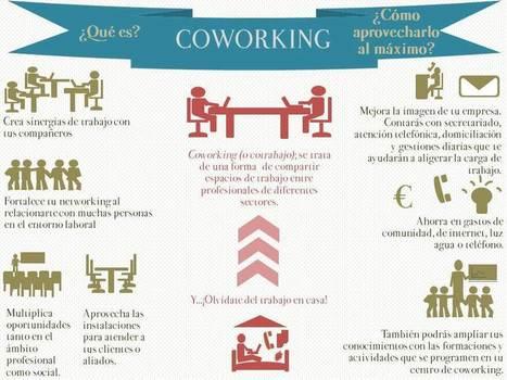 Qué es coworking #infografia #infographic #entrepreneurship | TURISMO SOSTENIBLE | Scoop.it
