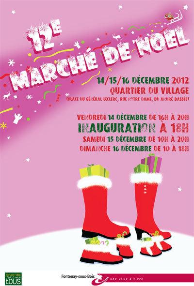 Muse et Home - Marché de Noël à Fontenay-sous-Bois (94) - du 14 au 16 décembre 2012 | L'actu culturelle | Scoop.it