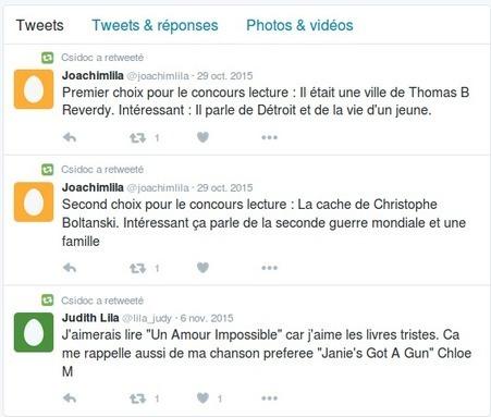 La littérature contemporaine avec Twitter - Doc pour docs   que faire au CDI?   Scoop.it