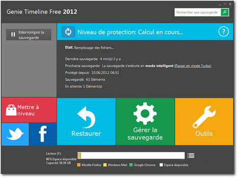 Genie Timeline Free - Un logiciel de backup ultra-simple au look Metro. | Time to Learn | Scoop.it