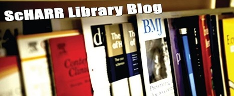 ScHARR Library: ScHARR Library Blog breaks America! | Medical Librarians Of the World (MeLOW) | Scoop.it