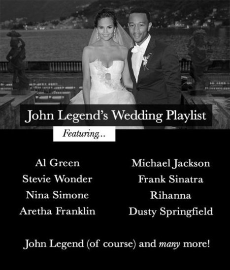 Ultimate R n' B Wedding Playlist by John Legend | Bridal Musings | wedding bands | Scoop.it