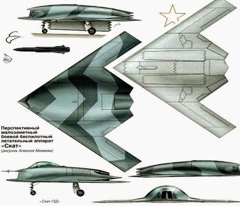 Next Big Future: Russia's unmanned next generation fighter is being based off the MIG Skat Stealth UCAV prototype | Outbreaks of Futurity | Scoop.it