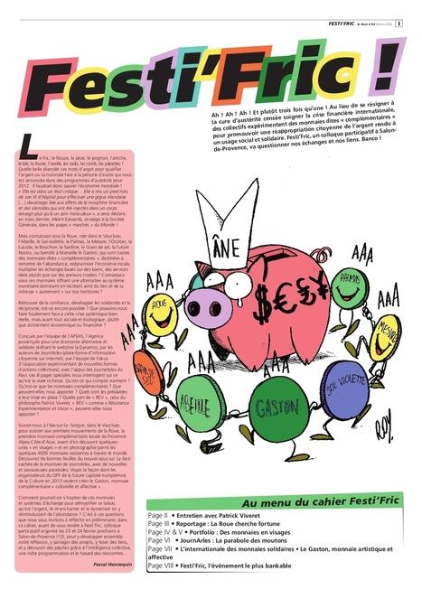 Dossier spécial Festi'Fric dans Le Ravi de février 2012 | Monnaies En Débat | Scoop.it