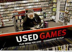La fin du jeu vidéo d'occasion serait néfaste pour l'industrie   Libertés Numériques   Scoop.it