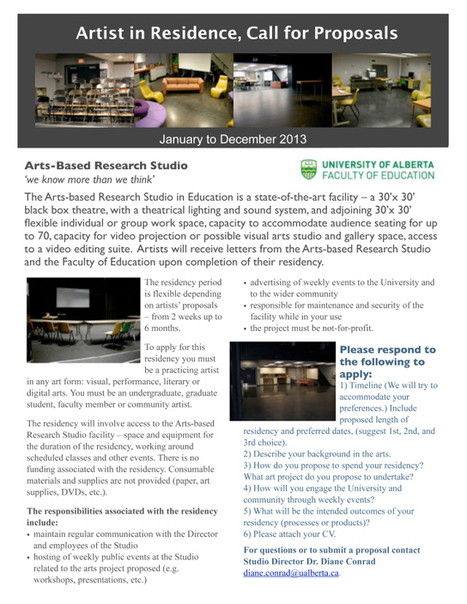 Arts Based Research Studio's Blog | Creatively Teaching: Arts Integration | Scoop.it