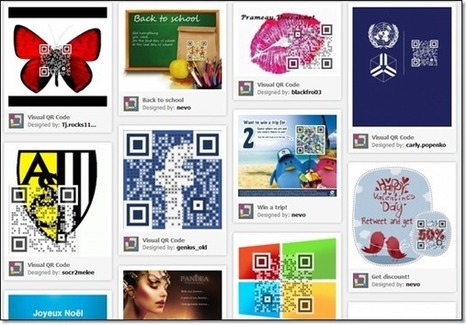 Créer un code QR avec une image incrustée | Outils en ligne pour bibliothécaires | Scoop.it