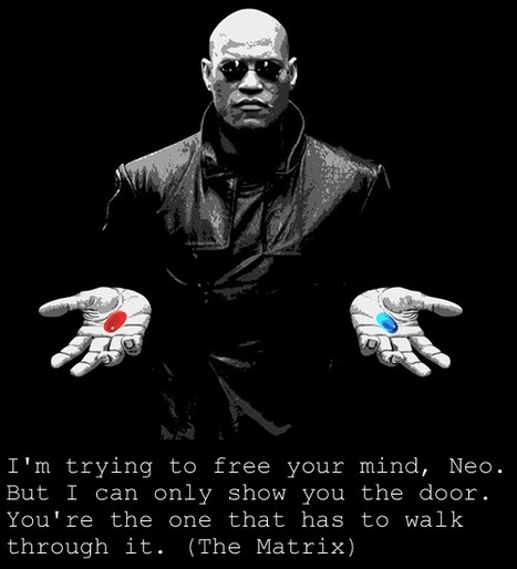 I'm trying to free your mind, Neo. But I can only show you the door. You're the one that has to walk through it. | Picture Quotes and Proverbs | Scoop.it