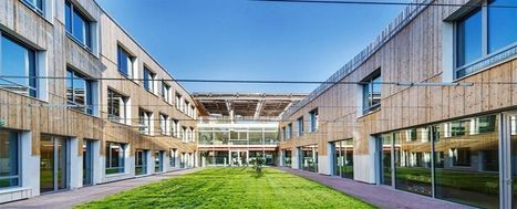 Inaugura in Francia la scuola efficiente - Casa & Clima | Gli alberi nei giardini | Scoop.it