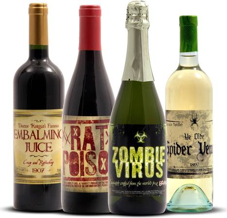 Hallowine...such fun! | Quirky wine & spirit articles from VINGLISH | Scoop.it