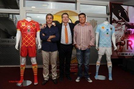 Les nouveaux maillots de l'USAP dévoilés ! | Maillot de Sport | Scoop.it