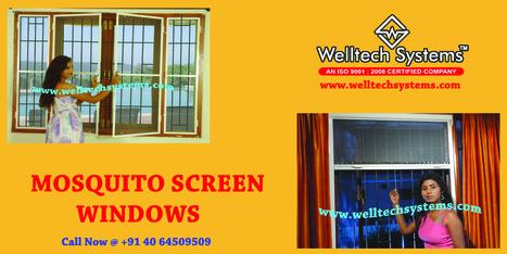 Mosquito mesh screens - hyderabad | Mosquito Screens Hyderabad | Scoop.it