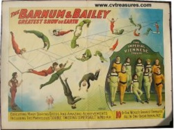 ARNUM AND BAILEY VIENNESE TROUP  Original Vintage Circus Poster, 1905 | Antiques & Vintage Collectibles | Scoop.it
