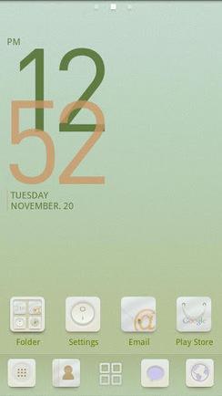 Baby White GO LauncherEX Theme v1.0 apk download | rtw | Scoop.it