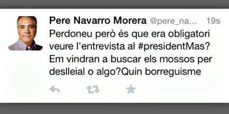 El PSC hace dimitir al 'community manager' de Pere Navarro por este tuit :: Barcelona :: Cataluña | Marketing Digital | Scoop.it