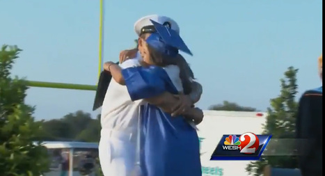 Navy dad surprises daughter at high school graduation | Soup for thought | Scoop.it