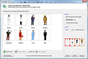Making the most of the Clicker 6 picture bank wizard  | The Spectronics Blog | Learning Support Technologies | Scoop.it