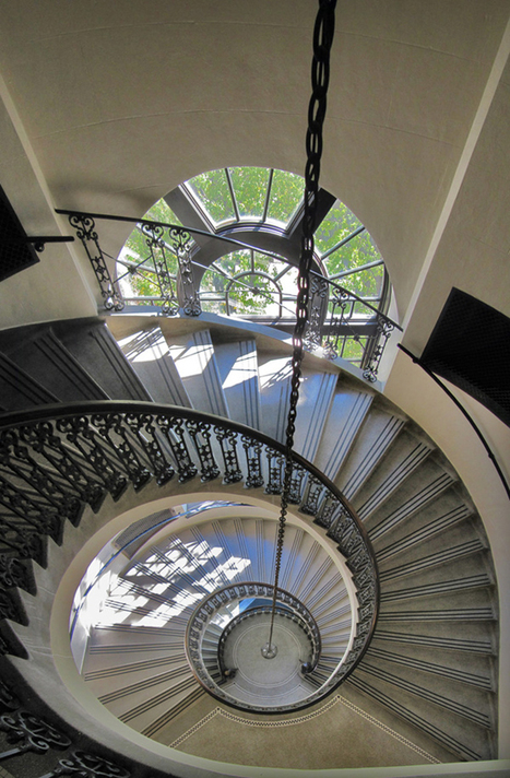40+ Eminent Examples of Spiral Staircase Photography | Bloggs74 | Container Architecture | Scoop.it