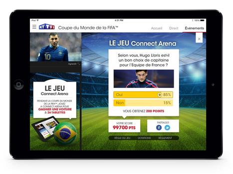 TF1 dévoile son dispositif digital pour la Coupe du Monde 2014 - SocialTV.fr | Du social, des médias et du divertissement | Scoop.it