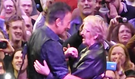 Bruce Springsteen 'Dances in the Dark' with 89-year-old grandmother during Toronto gig -- watch | ☊ ☊ Harmony60 Music ☊ ☊ | Scoop.it