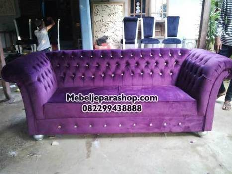 Sofa Chesterfield Jepara | MEBEL JEPARA SHOP | Mebeljeparashop | Scoop.it