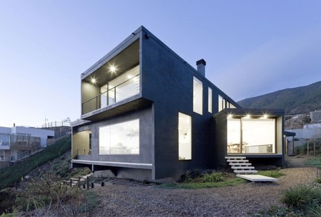 Catch the Views House by LAND Arquitectos | sustainable architecture | Scoop.it