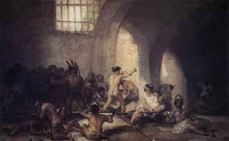 Twitter / almumontero : The Madhouse, by GOYA ... | the black paintings | Scoop.it