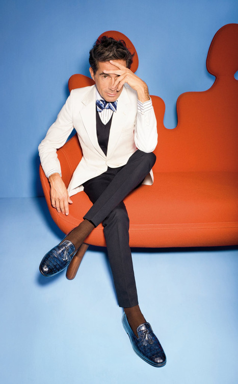 Olivier Zahm for Santoni Spring Summer '16 Campaign | Le Marche & Fashion | Scoop.it