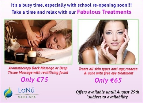Enjoy Amazing Offers on Medi and Spa Treatments before School Reopening | Luxury Spa, Wellness and Beauty Experience | Scoop.it