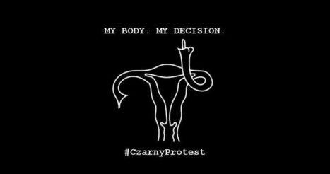 La Pologne s'habille en noir contre le projet d'interdiction de l'avortement en discussion au parlement · Global Voices en Français | Comment va ma Planète ? | Scoop.it