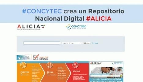 #CONCYTEC crea un Repositorio Nacional Digital #ALICIA para acceder gratuitamente a trabajos de investigación | Profesión Palabra: oratoria, guión, producción... | Scoop.it