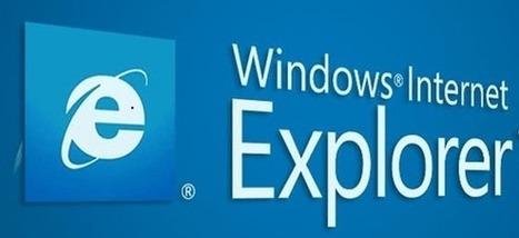 Internet Explorer 7,8,9 et 10 ne seront plus supportés à partir du 12 Janvier 2016. | Freewares | Scoop.it