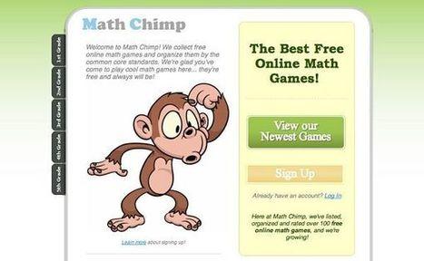 Math Chimp, juegos para aprender Matemáticas divirtiéndose   CONECTA2   Scoop.it