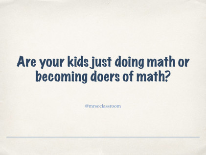 "Coding Can Help With ""Math War"" - @mraspinall  