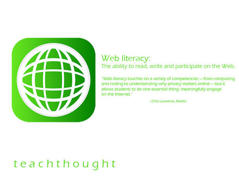 A Definition Of Web Literacy (And How Students Can Benefit) | Aprendiendo a Distancia | Scoop.it