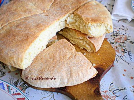 Ricettosando - ricette di cucina e chiacchiere: Pane arabo | Ricettosando | Scoop.it