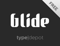 Glide® Font | Free Design Resource Roundups | Scoop.it