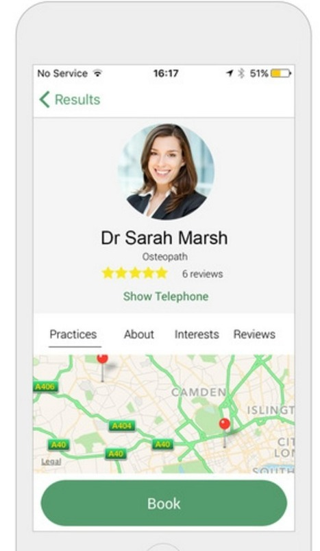UK's Doctify raises more than $1M to build out online healthcare booking platform | Private healthcare | Scoop.it