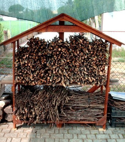 Pallet house for firewood - Recyclart | DIY | Scoop.it