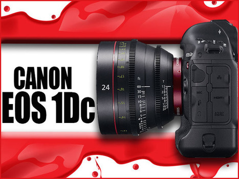 "HD Warrior » Blog Archiv » The Canon EOS 1Dc ""Where does it fit in"" 