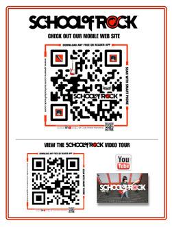 QR Portfolio School of Rock   Mobile - Mobile Marketing   Scoop.it