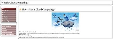 Zunal WebQuest Maker, para crear WebQuests de forma sencilla | Utilidades TIC para el aula | Scoop.it